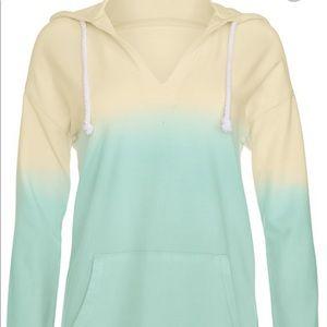 Venus Ombré Hooded Sweater
